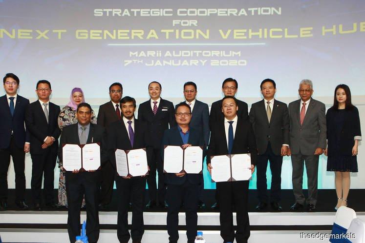 马中联手打造东南亚首个下一代汽车枢纽